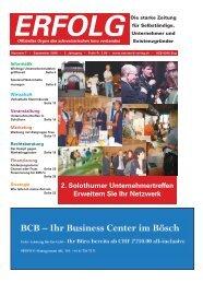 Erfolg_Ausgabe Nr. 7 - September 2008