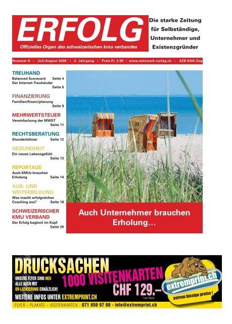 Erfolg_Ausgabe Nr. 6 - Juli/August 2008