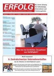 Erfolg_Ausgabe Nr. 8 - Oktober 2008