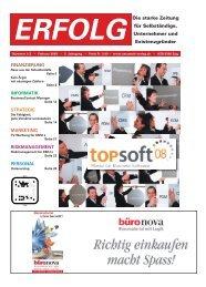 Erfolg_Ausgabe Nr. 1/2 - Januar 2008