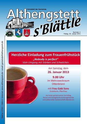 KW 04/2013 - Althengstett