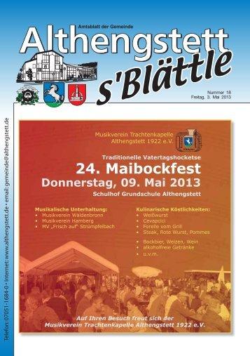 KW 18/2013 - Althengstett