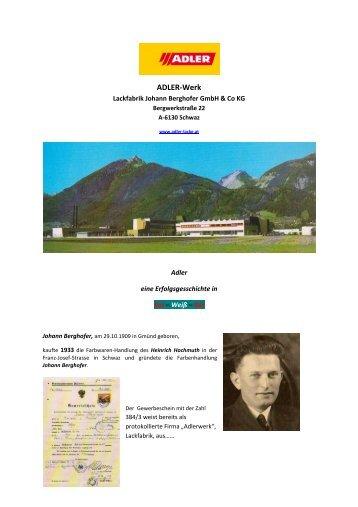 ADLER-Werk - Althofen