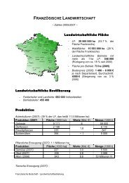 FRANZSISCHE LANDWIRTSCHAFT - Französische Botschaft