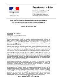 AMBASSADE DE FRANCE - Französische Botschaft