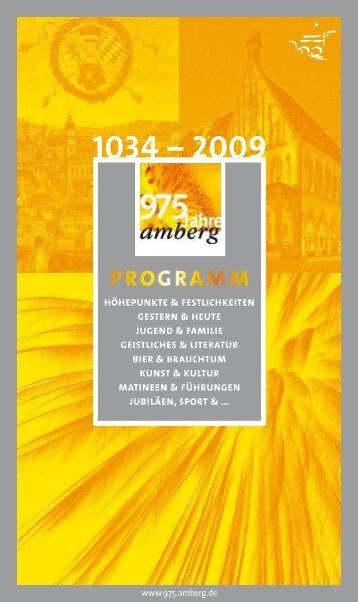 programm - Stadt Amberg