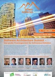 Software Architecture Summit – - Amiando
