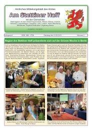 Ausgabe 02/13 - Amt am Stettiner Haff