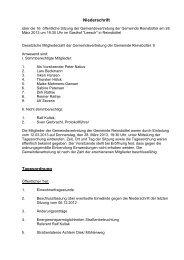 Sitzung vom 28.03.2013 - Amt Büsum-Wesselburen