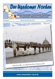 Amtsblatt Nummer 2 (20. Februar 2013) - beim AMT USEDOM-NORD
