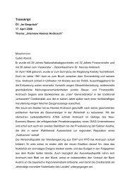Transkript - Hannes Androsch