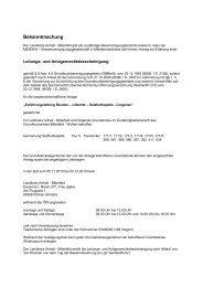 deutschland mbH auf Erteilung einer Leitungs - Landkreis Anhalt ...
