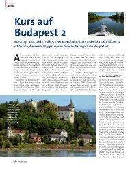 Kurs auf Budapest 2 - Delius Klasing