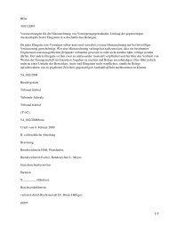 BGer 30.03.2009 Voraussetzungen für die Hinzurechnung von ...