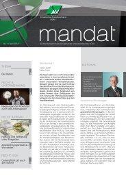 mandat»: Ausgabe 1/2013 - St. Gallischer Anwaltsverband