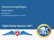 Versicherungsfragen - AOPA Switzerland