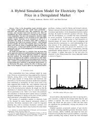 A Hybrid Simulation Model for Electricity Spot Price in a Deregulated ...