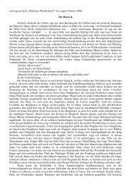 """Auszug aus dem """"Thüringer Wanderbuch"""" von August Trinius 1890 ..."""