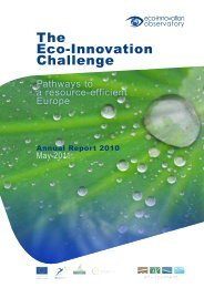 The Eco-Innovation Challenge