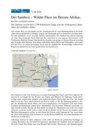 Der Sambesi – Wilder Fluss im Herzen Afrikas - Arbeit und Leben ...