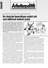 4 2001 - der Gruppe Arbeiterpolitik