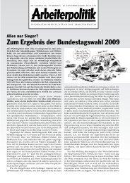 3 2009 - der Gruppe Arbeiterpolitik