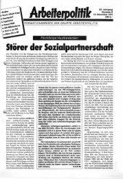 6 1991 - der Gruppe Arbeiterpolitik