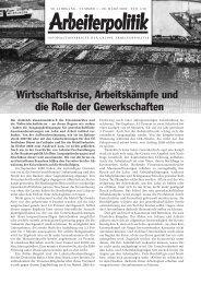 1 2009 - der Gruppe Arbeiterpolitik