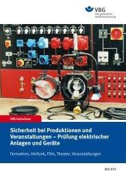 Sicherheit bei Produktionen und Veranstaltungen – Prüfung ...