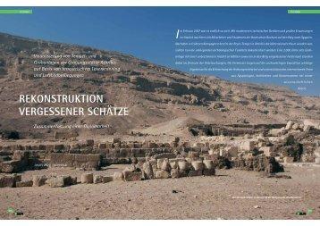 rekonstruktion vergessener schätze - Architektur-Vermessung
