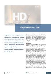 ARD-Finanzbericht 2010