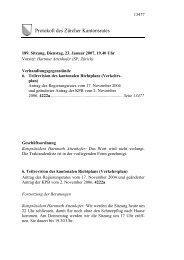 189. KR-Protokoll vom 23. Januar 2007 - Amt für Raumentwicklung ...