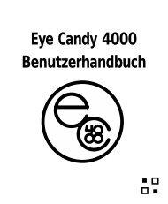 Eye Candy 4000 Benutzerhandbuch