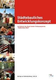 Städtebauliches Entwicklungskonzept, 2007 (pdf, 3.802 ... - Arnsberg