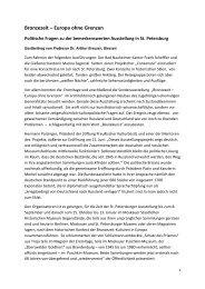 Bronzezeit – Europa ohne Grenzen Politische ... - Arthur Kreuzer