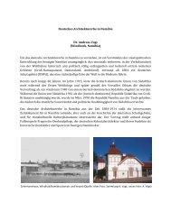 Deutsches Architekturerbe in Namibia Dr. Andreas Vogt (Windhoek ...
