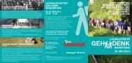 Folder Geh-Denk Wanderung 2013 - aspern + Die Seestadt Wiens