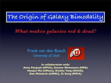 The Origin of Galaxy Bimodality