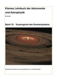 Kleines Lehrbuch der Astronomie und Astrophysik - Astronomie.de