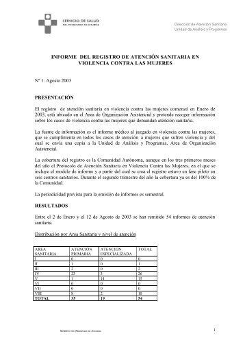 Registro VIMPA. Primer semestre 2003 pdf
