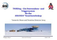 TWRDaq - Astroteilchenschule
