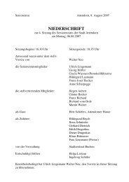 Protokoll zur 4. Sitzung am 06.08.2007 - Attendorn