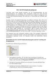 ELCAD 3D Schaltschranklayout - Aucotec AG