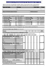 Anmeldung zur Ferienbetreuung für das Schuljahr 2012 / 2013