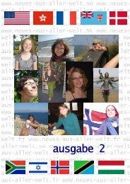 Neues aus aller Welt 2 für HP - Augustana-Hochschule ...