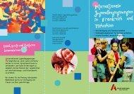 Flyer Jugendbegegnungen - Arbeit und Leben NRW