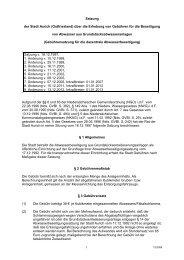 Satzung der Stadt Aurich (Ostfriesland) über die Erhebung von ...