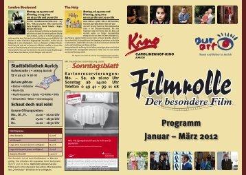 Programm Januar – März 2012 - Stadt Aurich