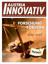 forschung - Austria Innovativ