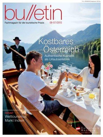 bulletin Juni/Juli 2013 - Österreich Werbung